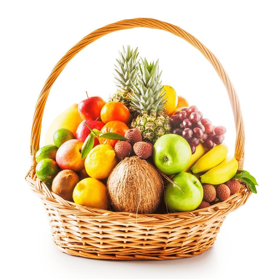 Giỏ trái cây đẹp tặng khai trương